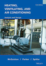 Heating, Ventilating and Air Conditioning, Faye C. McQuiston