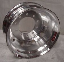 22.5 10 LUG HUB PILOT MACHINED   DUAL DUALLY WHEELS RIMS