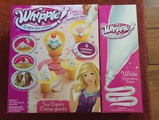 NIB Whipple Ice Cream Creme Glacee Set And 1 Add'l White WHIPPLE Creme