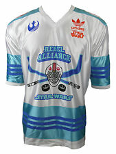 Adidas Originals Trikot Star Wars Skywalker Rebel Alliance weiß-blau Gr. M
