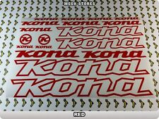 KONA Stickers Decals Bicycles Bikes Cycles Frames Forks Mountain MTB BMX 57TE