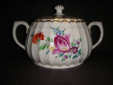 ANTIQUE BAUER PFEIFFER WURTTEMBERG GERMANY WHITE PORCELAIN COVERED DISH