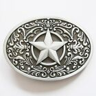 BRAND NEW WESTERN STAR SCROLL COWBOY TEXAS BELT BUCKLE
