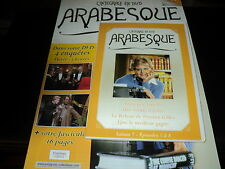 "DVD + FASCICULE ""ARABESQUE - LA COLLECTION N°13"" episodes 5 a 8 / saison 7"