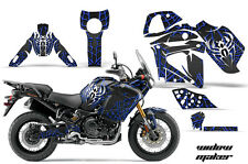 AMR Racing Graphic Wrap Kit Yamaha TENERE 1200 Motorcycle Deco Decal WIDOW BLUE