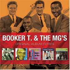Booker T & The MG's ORIGINAL ALBUM SERIES Box Set GREEN ONIONS New Sealed 5 CD