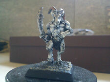 WARHAMMER FANTASY- CHAOS-BEASTMAN-BEASTMEN-PARTIALLY PAINTED-GW