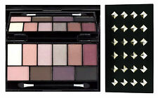 MUA LUXE Studded Eyeshadow Palette PRETTY EDGY Nude Naked Neutral Smoky *NEW!*