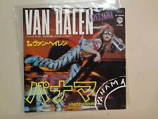 "VAN HALEN:Panama 3:31-Drop Dead Legs 4:13-Japan 7"" 1984 Warner Bros.DJ Label PSL"
