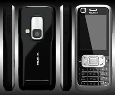 Nokia 6120 Classic With Front Camera  Full  Black Original Mobile Phone.