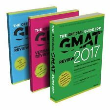 The Official Guide to the GMAT Review 2017 Bundle + Question Bank + Video 2nd Ed