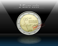 "SLOVENIA 2 EURO Commemorative coin 2016 "" 25th anniversary of independence "" UNC"