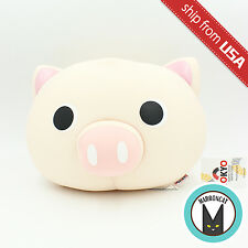 Tokyo Japanese Lifestyle Pink Pig Big Head Beads Cushion Plush Kawaii Cute fun