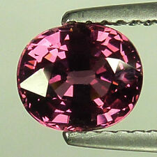 1.54Cts Ravishing Excellent Collection Natural Rhodolite Garnet Fine Gem !VDO!