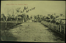 1905 Scene At Benin City Nigeria RP Postcard Posted Forcados 1905