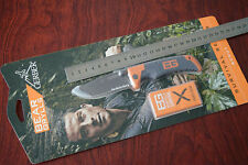Genuine Blister Pack! Bear Grylls  Folding Serrated Drop Point Scout Knife