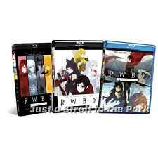 RWBY (Ruby) Complete Anime TV / Web Series Volumes 1 2 3 Box / BluRay Set(s) NEW