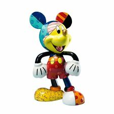 MICKEY MOUSE VINYL FIGURE : ROMERO BRITTO : LIMITED PRODUCTION : NEW IN BOX