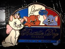 LE Marie Berlioz Toulouse Kitten Aristocats Bastille Day 2002 France Disney Pin