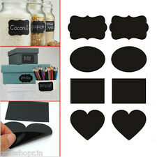 20 Pcs Kitchen Labels Chalkboard blackboard Sticker for Jars, Cups, Walls.