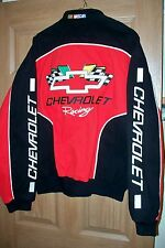 New Men's Racing Champions Apparel NASCAR Chevrolet Racing Jacket Size Large