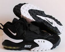 NIKE MEN 2012 AIR MAX SPEED TURF BLACK-WHITE  RARE!! SZ 10.5 [525225-011]