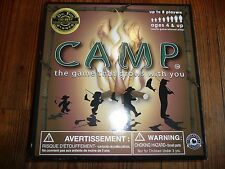 Education Outdoors CAMP BOARD GAME Award Winner Science & Nature EDUCATIONAL