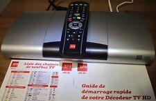 décodeur tv TNT HD  Sfr  Netgem 7600 En Très Bon Etat+ HDMI Câble