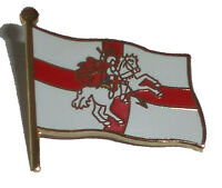 England pin badge - England flag + St George