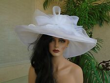 Kentucky derby hat white