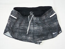 "NIKE LUXE ANGULAR TEMPO RUNNING 2"" SHORTS Grey Color Size XL - RRP £69"