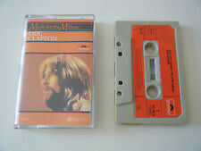 ERIC CLAPTON MUSIC FOR THE MILLIONS CASSETTE TAPE 1970 RED PAPER LABEL POLYDOR