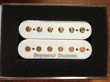 Seymour Duncan Pearly Gates Humbucker Neck Pickup White Gold Poles SHPG-1n