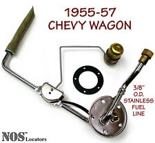 "1955-57 Chevy Bel Air Nomad Wagon 3/8"" Stainless Fuel Tank Sending Unit - SALE"