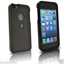 TETRAX, XCASE iPhone 5/5S Nero/Black, custodia con magnete integrato
