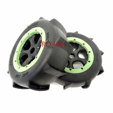 1/5 Rovan LT Sand Buster Paddle Wheels, Tires (2) Fits LOSI 5IVE T King Motor X2