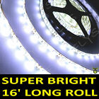 White Boat Accent Light Waterproof LED Lighting Strip 300 5050 SMD LEDs 16 ft/5M