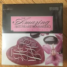Lover's Choice The Amazing Hot Heart Massager Express Your Love Though Touch NEW