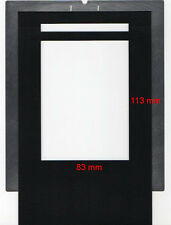 Film holder for Imacon/Hasselblad Flextight scanners, 9x12 (83x113mm), ID coded!