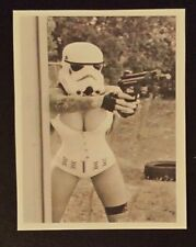 Star wars storm trooper lady underwear Sticker laptop guitar halloween 293