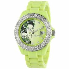 BY CHRISTIAN AUDIGIER for ED HARDY  Women RX-LG Roxxy Light Green Watch
