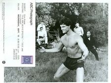 GARY KASPER HUNKY MUSCULAR BARECHEST JOE AND THE COLONEL ORIG 1985 ABC TV PHOTO