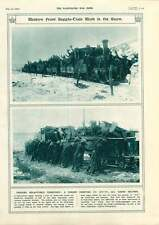 1917 Western Front Supply-train Cheery Troops Pushing Train