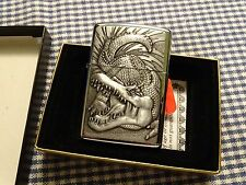 ZIPPO HP CHROME CROCODILE LIGHTER 1995
