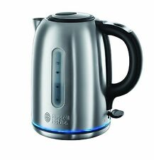 Rapid Fast Quiet Boil Kettle Stainless Steel Silver Electric Cordless Jug NEW