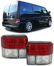 VW Bus Transporter T4 90-03 LED RÜCKLEUCHTEN ROT KLAR