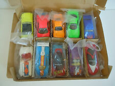1992 Hot Wheels REVEALERS Sealed Mail-In 10 Car Set with Exclusive Paint Schemes