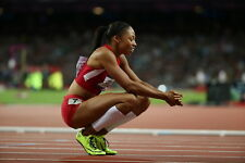 "006 Allyson Felix - American Track And Field Sprint Athlete 21""x14"" Poster"