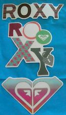 Unique Lot Of 3!  AUTHENTIC ROXY QUALITY COLORFUL SURF/SKATE STICKER o Free S/H