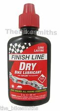 Finish Line Dry Bike Lube Teflon Chain Bottle 2 oz Ounce Lubricant